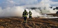 Stoppelfeldbrände Geisenhausen/ Vilsbiburg