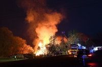 Brand Sägewerk
